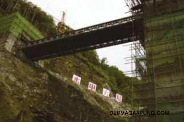 Bailey bridge(HD-321,30m long,DSR,Overhead)