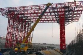 Jembatan besi gantry crane