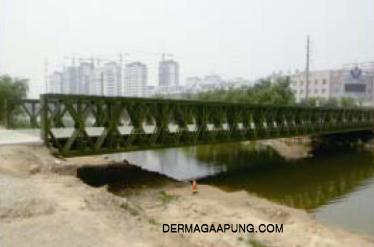 bailey bridge (CB-200, Double-lanes)to the construction bureau,guan country img 2