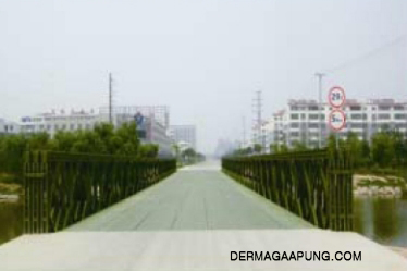 bailey bridge (CB-200, Double-lanes)to the construction bureau,guan country