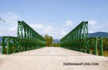 bailey bridge(cb-200, double lanes, double layers, clear width 7,35m) img3